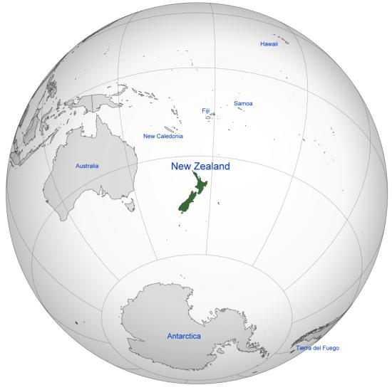NZ Orthographic projection