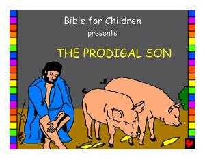 Childrens' Bible example