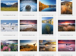 Sisson Photography sampler of free Ipad wallpapers