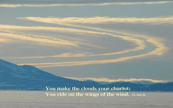Free wallpaper #08 -You make the clouds your Chariot_1440x900