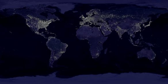 Haves and haves not    - Courtesy of NASA 2012